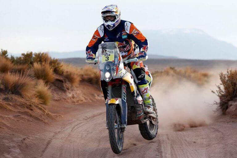 다카르 랠리의 인기 경쟁 범주#1 오토바이