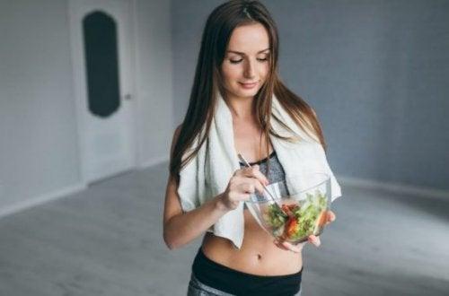 운동 후 먹는 음식으로 무엇이 좋을까?