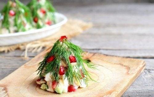 크리스마스 요리에 포함해야 할 과일과 채소