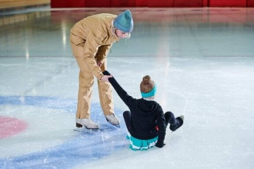 피겨 스케이팅 도중 흔히 입을 수 있는 부상