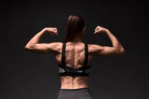 능형근을 단련하고 유연하게 해주는 운동