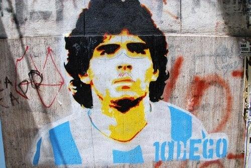 위대한 축구의 전설, 디에고 마라도나