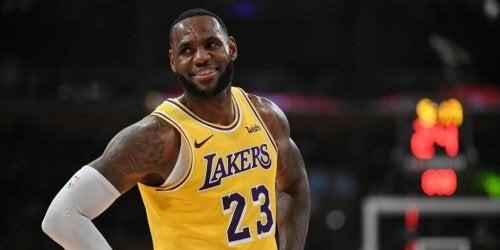 현대 농구 선수 르브론 제임스