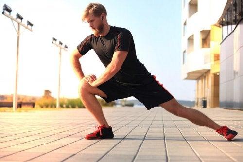 근육 스트레칭 효율성
