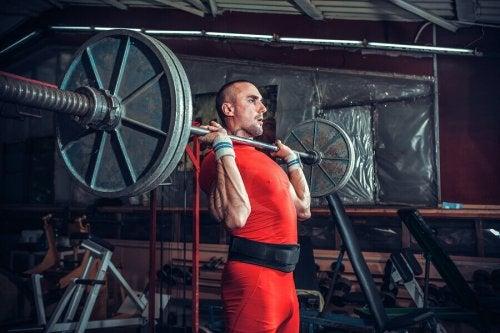 근육 실패점에 도달하는 트레이닝의 효율성