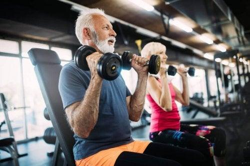 운동하는 노년층을 위한 영양 가이드