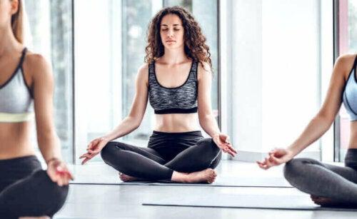 건강한 생활에 영향을 미치는 운동과 정신 수련 관계