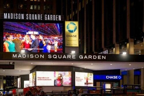 뉴욕의 전설적인 경기장, 매디슨 스퀘어 가든