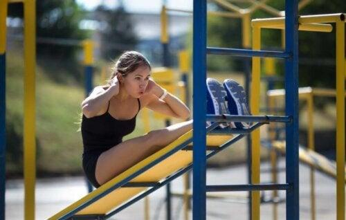야외에서 하는 맨몸 운동 팁