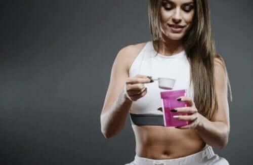식이 보충제를 건강 개선