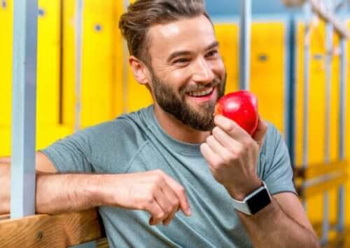 운동선수에게 있어 과일을 섭취하는 것의 중요성