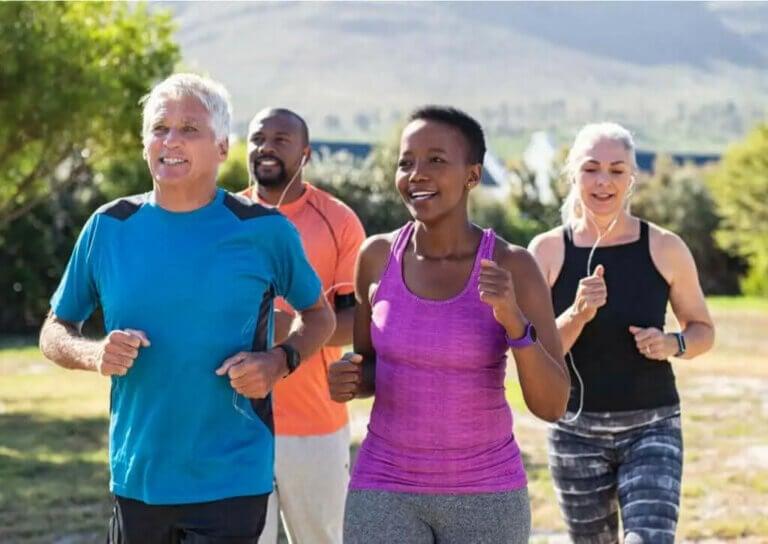 달리기가 정신 건강에 선사하는 이점