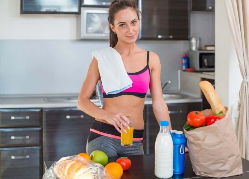 운동 목표 달성을 위한 맞춤 식단 관리