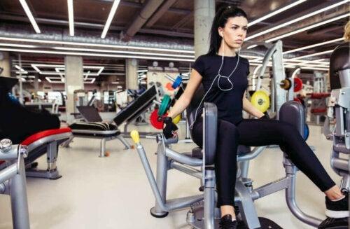 운동 중독을 제어하는 방법