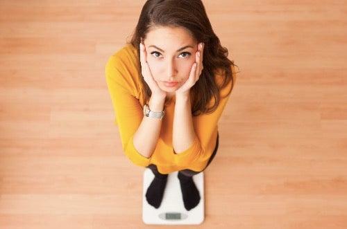 Hvorfor går du opp i vekt når du trener?