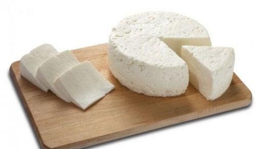 Fersk ost.