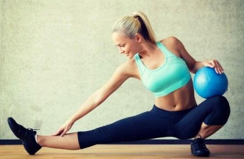 Tre øvelser for å forbedre fleksibiliteten