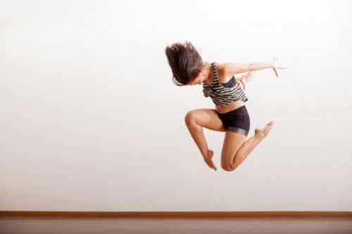Fleksibiliteten og kostholdet til jazzdansere