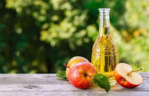 De gode fordelene med eplecidereddik