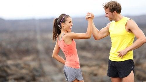 Forbli motivert: råd for å klare å gjennomføre treningen