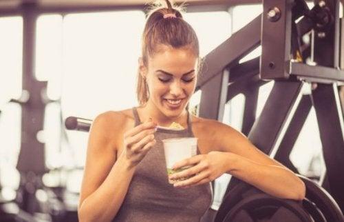 Hva du kan spise etter en treningsøkt