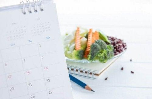 Planlegg en sunn diett.