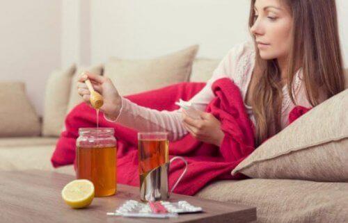 Honning for naturlig muskelrekreasjon
