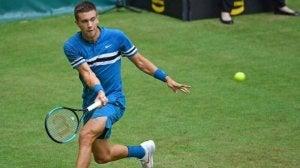 Borna Coric er en av tre mest lovende unge tennisspillerne for tiden.