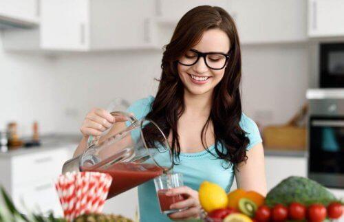 Trinn for å endre spisevanene dine