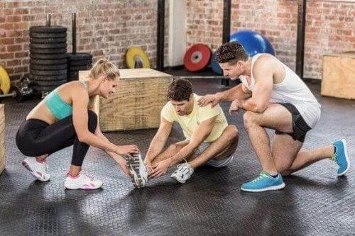 Hvordan takle en skade i CrossFit?