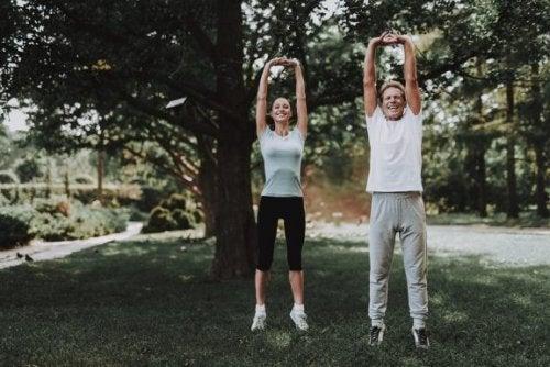 Å utøve sport forbedrer sirkulasjonen vår