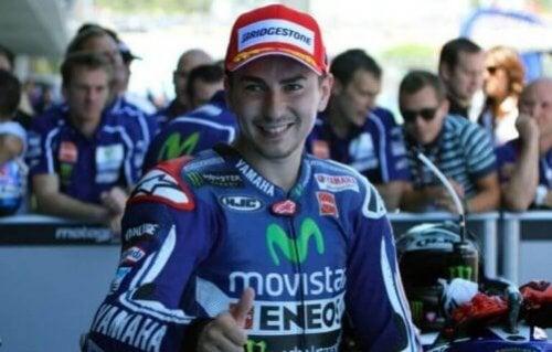 Jorge Lorenzo, en av de mer kontroversielle MotoGp førerne.