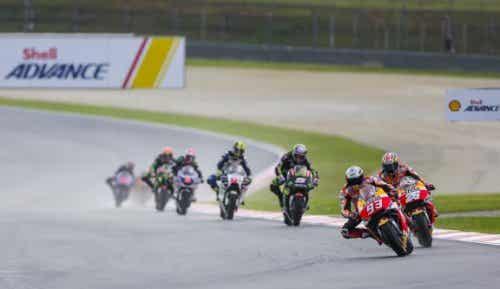 Noen rariteter fra verdensmesterskapet i MotoGP