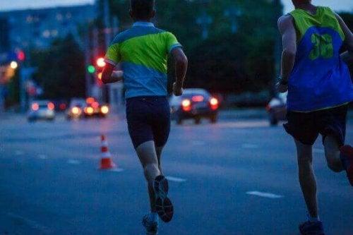 Gode grunner til å løpe om kvelden