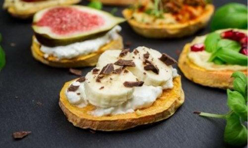 Sunne frokoster: Bruk søtpotet i stedet for brød!