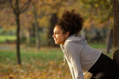 Glad jogger.