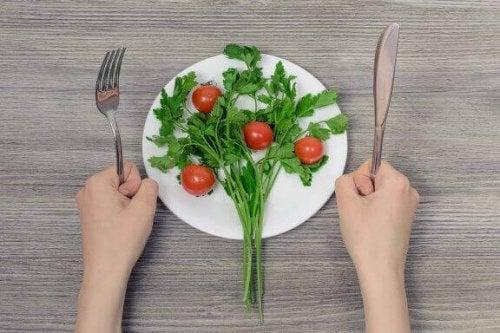 Farene ved et kosthold med lite kalorier
