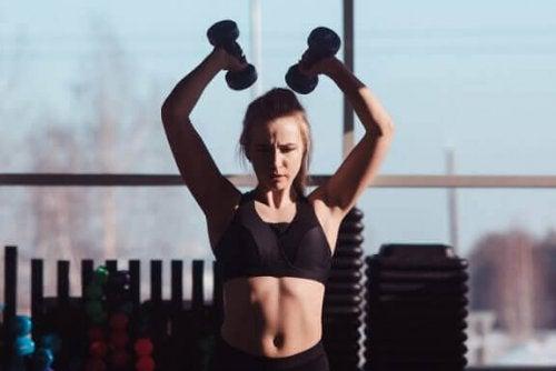 Seks grunner til å sørge for å trene overkroppen