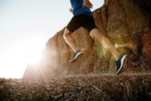De gode fordelene med å løpe i fjellet