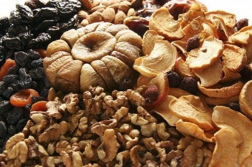 Fordeler med frø og nøtter