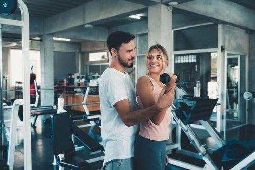 Fordelene med å trene med partneren din