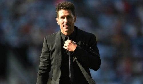 Fotballspilleren Diego Simeone