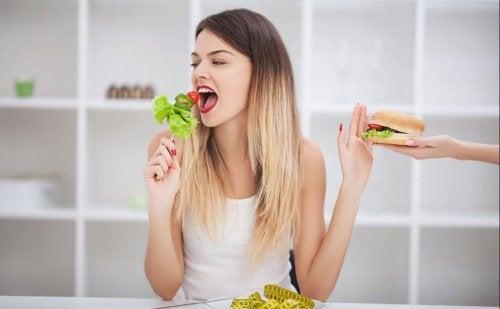 Utfordringene med å spise sunn mat