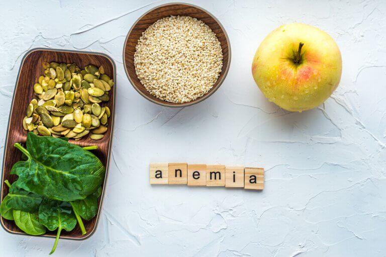 Forskjellige typer anemi