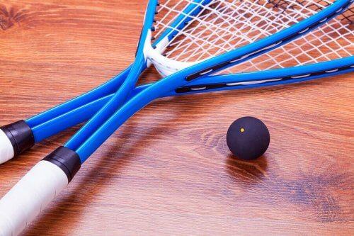 Forskjellige idretter med rekkert