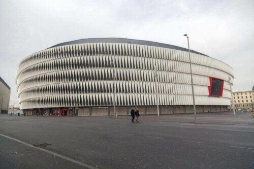 San Mamés - de største stadionene i Spania
