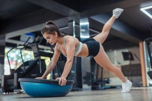 Ustabil trening: hva er det og hvorfor gjør man det?