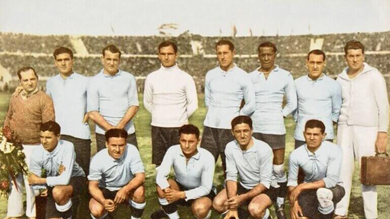 Uruguay, vinneren av det første verdensmesterskapet
