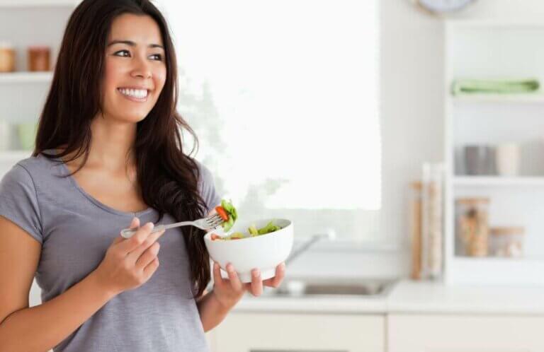 Noen oppskrifter på blandet salat