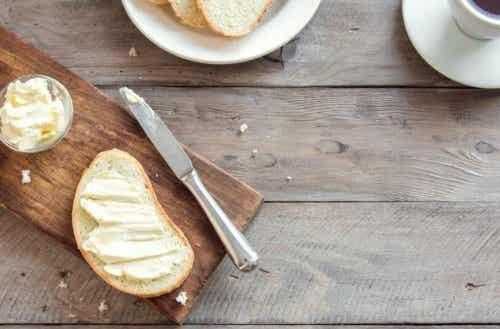Forskjellene mellom smør og margarin